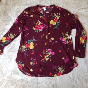Old navy tunic blouse size XL